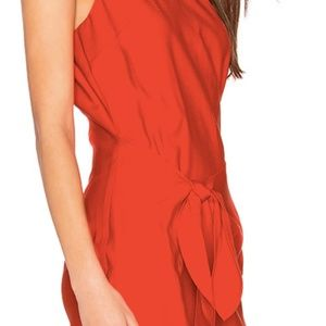 Red Line & Dot Dress
